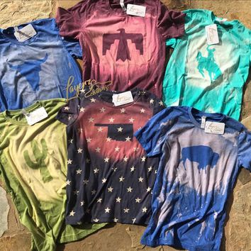 Bleached Country Cozy Shirts