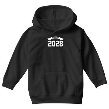 class of 2028 novelty high school elementary Youth Hoodie