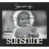 "Malden International Designs Picture Frame, You Are My Sunshine, 4"" x 6"""