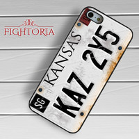 Supernatural License Plate - zFzF for  iPhone 6S case, iPhone 5s case, iPhone 6 case, iPhone 4S, Samsung S6 Edge