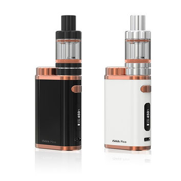 Eleaf iStick Pico TC 75W Box kit electronic cigarette TC battery 2ml melo 3 mini tank top filling comparible with 18650 cell