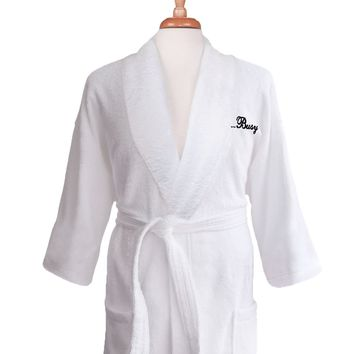 Lakeview Signature Egyptian Cotton Terry Spa Robes - Gift Shop Just Because