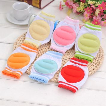 5 Color Baby Knee Pads Baby Boys Girls Safety Crawling Elbow Cushion Toddlers Knee Pads Protective Gear NDA84L19#F