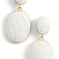 Women's kate spade new york 'pave the way' drop earrings