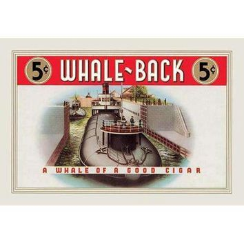 Whale-Back Cigars (Paper Poster)