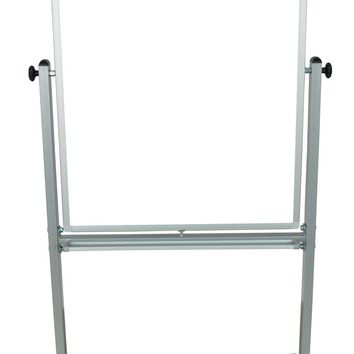 "30"" x 40"" Double Sided Magnetic Reversible Dry Erase Easel White Board With Casters"