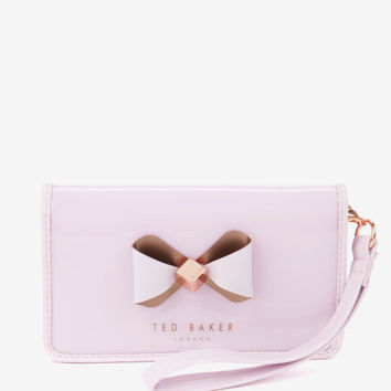 Bow detail iPhone 6 sleeve - Pale Pink | Gifts for Her | Ted Baker
