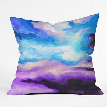 Jacqueline Maldonado Noche Azul Throw Pillow