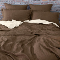 Linen Duvet Cover Earth
