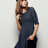 Free People Coolest Babydoll Tunic