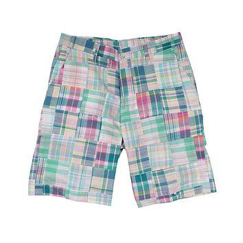 Pastel Patchwork Madras Shorts by Country Club Prep - FINAL SALE