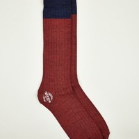 Nonnative Men's Doctor Ribbed Hi Socks