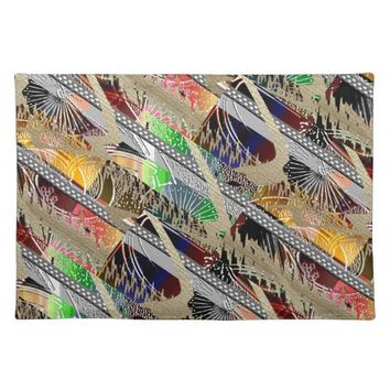 Cool Summer Chic Cloth Placemat