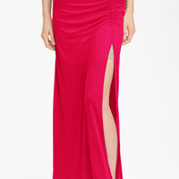 Stem Ruched Maxi Skirt | Nordstrom