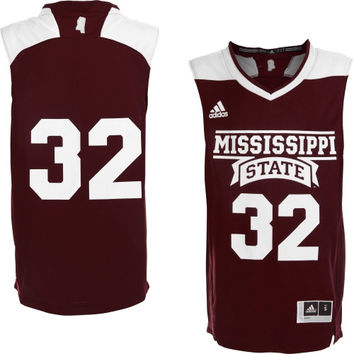 Mississippi State Bulldogs adidas No. 32 Youth Replica Basketball Jersey – Maroon - http://www.shareasale.com/m-pr.cfm?merchantID=7124&userID=1042934&productID=554336681 / Mississippi State Bulldogs