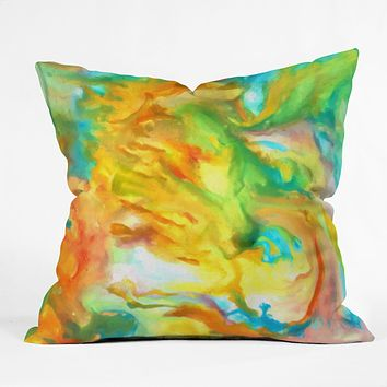 Rosie Brown Palette Gone Wild Throw Pillow
