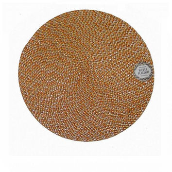Royal Classic 15 Inch Round Woven Placemat
