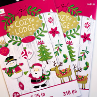 Cozy Lodge Darice Sticker Book - SB46