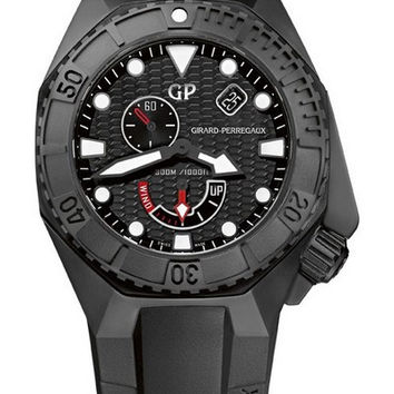 Girard-Perregaux Sea Hawk Black Ceramic Men's Watch 49960-32-632-FK6A
