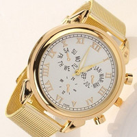 Women Gold Wrist Watch = 1956331268