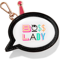 Sophia Webster - Boss Lady printed leather coin purse