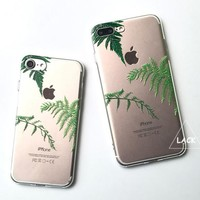 TROPIC LEAF CLEAR CASE