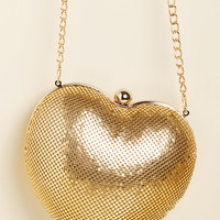 Room for Amour Metallic Purse