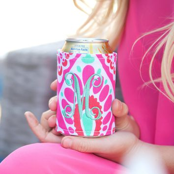 Just Beachy Monogrammed Koozie