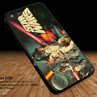 Old Poster Star Wars iPhone 6s 6 6s+ 5c 5s Cases Samsung Galaxy s5 s6 Edge+ NOTE 5 4 3 #movie #starwars DOP296