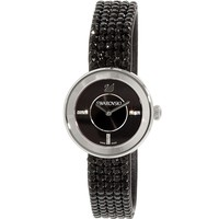 Swarovski Swiss Watch PIAZZA MINI Jet Black Stainless Steel #1183491