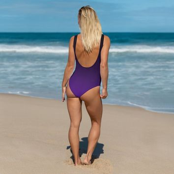 INFAMOUS MILITIA™Ombre purple swimsuit