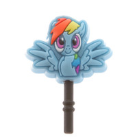 My Little Pony Rainbow Dash Cell Phone Plug | Hot Topic