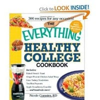 The Everything Healthy College Cookbook (Everything (Cooking))