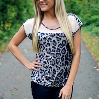 Leopard Grounds Top