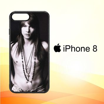 Axl Rose Guns and Roses wallpaper Y0566 iPhone 8 Case
