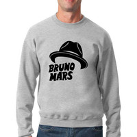 Bruno Mars Hat sweat shirt
