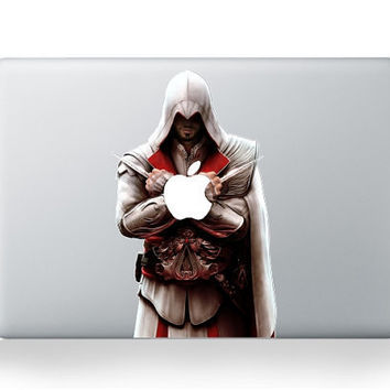 Assassins Creed - Macbook Decal Macbook Stickers Macbook pro air Decals  Apple Decal iPad sticker Laptop decals