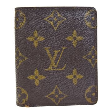 Auth LOUIS VUITTON Magellan Bifold Wallet Purse Monogram Leather M60045 07B378