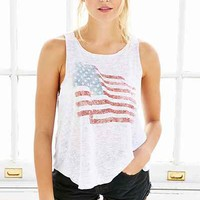 Project Social T Americana Tank Top - Urban Outfitters