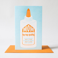 Tip Top Mom Card