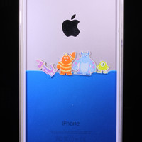 iPhone Water Case, Toy Story Aliens