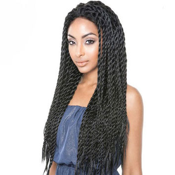 Isis Red Carpet Braided Lace Front Wig - Eva Twists RCP737