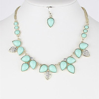 Dipped in Mint Necklace