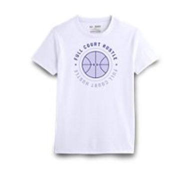 Under Armour Girls' UA Full Court Hustle T-Shirt