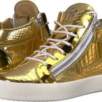 Giuseppe Zanotti Mens May London Electra Mid Top Sneaker