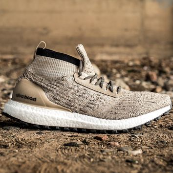ADIDAS ULTRABOOST TERRAIN LTD - TRACE KHAKI/CLEAR BROWN