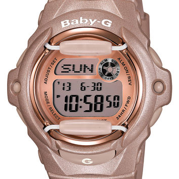 Baby-G Pink Dial Digital Watch, 46mm x 42mm
