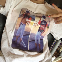 Taylor Caniff Shirt with a Picture of Taylor on the front.