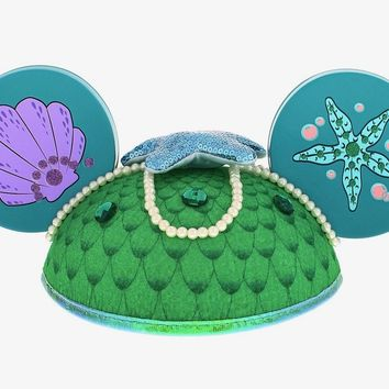 disney parks character ears little mermaid ariel hat adult size new with tags