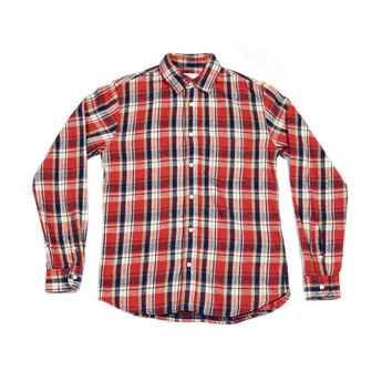 Red Nepped Flannel - Corridor Clothiers